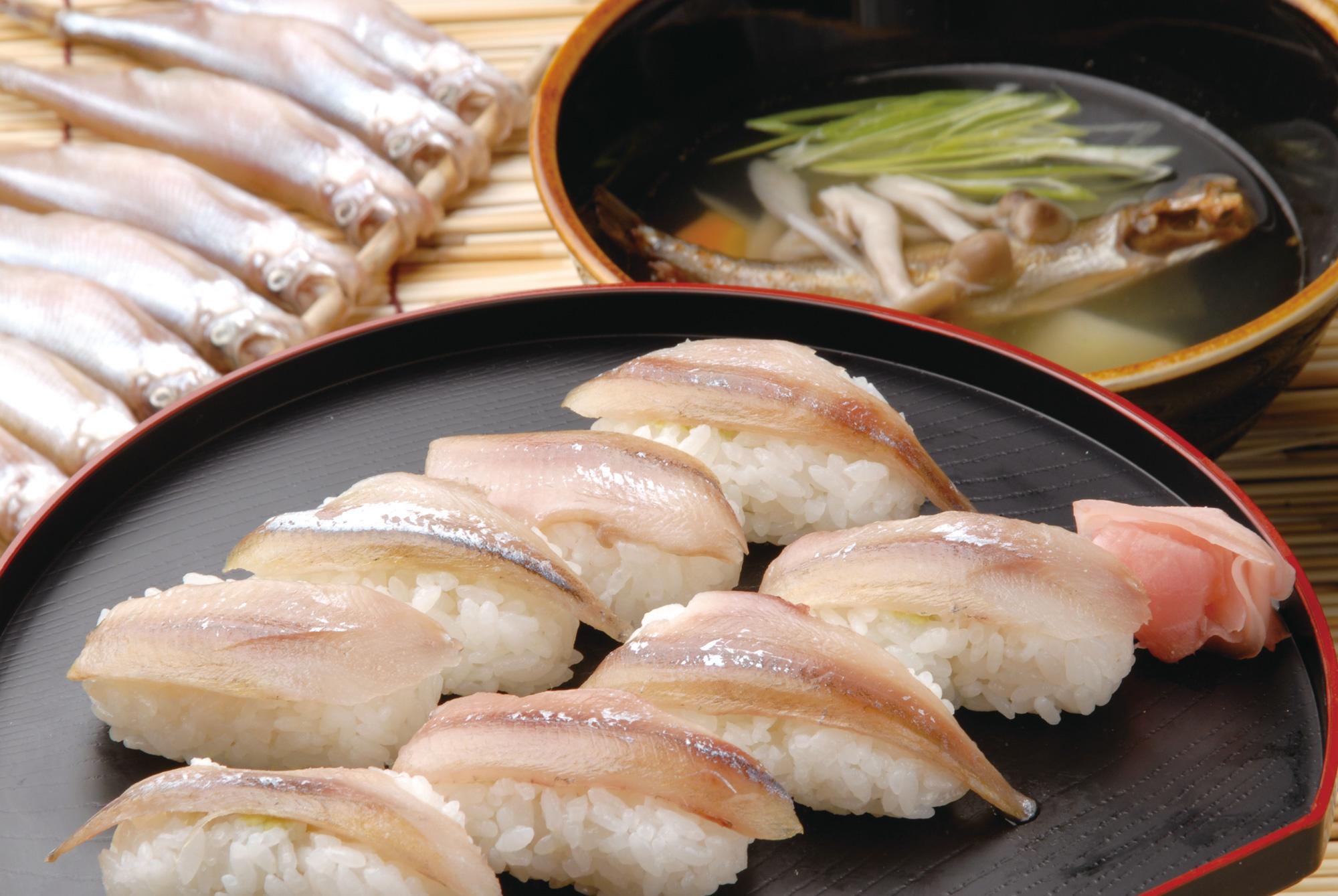 日高の老舗寿司店で味わう ししゃも寿司 と\アイヌ文化 札幌発着 (6/24) 札幌